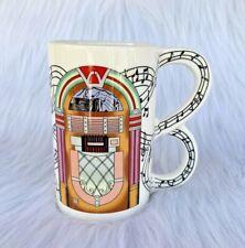 "Collectible Five & Dime Inc. Sarsaparilla 1986 ""Jukebox"" Fine Ceramic Mug Japan"
