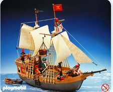 Playmobil vintage mat AV cabestan du grand bateau pirate 3550 et 3750
