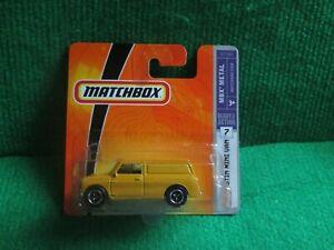 MATCHBOX 65 AUSTIN MINI VAN (LOT P4) CAR MINT CARD OPENED
