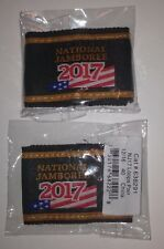 Official Jamboree Shoulder Loops 2017 National Boy Scout Jamboree - MINT!