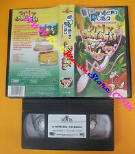 VHS film LA PANTERA ROSA cartoon collection PINK BANANAS 2001 (F136) no dvd