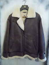 BNWOT BORN FREE B3 SHEEPSKIN FLYING MOTOCYCLE JACKET SIZE L