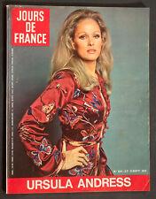 'JOURS DE FRANCE' VINTAGE MAGAZINE URSULA ANDRESS COVER 8 SEPTEMBER 1970