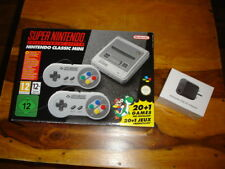 SNES Super Nintendo Mini Console including games and USB power adapter - HDMI