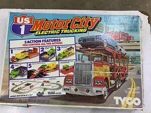 Tyco Motor City Electric Trucking Slot Cars Extra Trucks