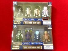 Star Wars Rogue One 2016 and Celebration 2017 4-Pack Droid Factory - LOT OF 2