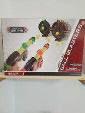 Majik Ball Blaster Shootout, 2 Ball Blasters, 24 Foam Rounds and 2 Targets NEW.