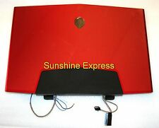 OEM Dell R610K Display Assembly for Dell Alienware M17X Laptop - RED Cover