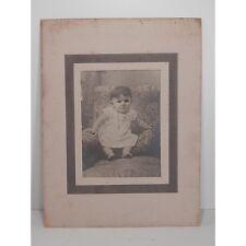 """ANTICA FOTOGRAFIA  """"RITRATTO DI BAMBINA"""" COLLEZIONE INIZIO 1900"""