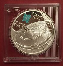 2010 SILVER £5 Five Pounds Coin at their Summits WITH 2012 LONDON OLYMPIC LOGO 2