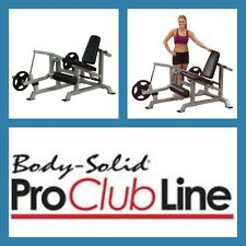 BODY SOLID USA Leverage Olympic Seated Leg Extension   Machine