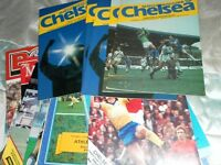 CHELSEA HOME AND AWAY PROGRAMMES FROM 1982/3 SELECT FROM LIST