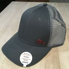 Patagonia Small Flying Fish Trucker Hat - New With Tags - Forge Grey