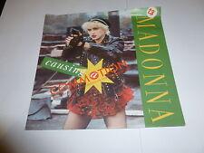 """Madonna-provocando una conmoción - 1987 Reino Unido Amarillo Sire Etiqueta 7"""" Vinilo Single"""