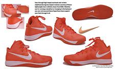 Nike Men's 2012 Orange/White Leather Zoom Hyperfuse TB Basketball Shoes: Size 17