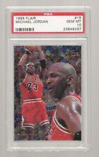 S20) 1995-96 Fleer Flair Michael Jordan #15 PSA 10 Gem Mint Chicago Bulls