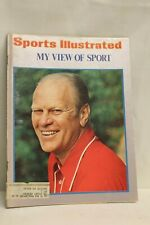 Share Sports Illustrated Magazine- July 8, 1974 My View of Sport Gerald Ford