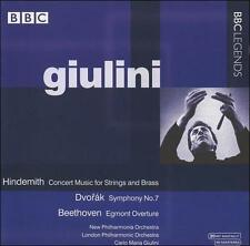 Hindemith: Concert Music for Strings and Brass; Dvorák: Symphony No. 7; Beethove