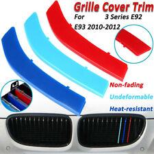 E92 // E93 KAPAYONO 2Pz Paraurti Anteriore Rene Twin Fins Sport Griglia Griglia per E92 E93 M3 2006-2009 08-13 Serie 3 M3 07-10 E92 Coup/é 2D E93 Nero Lucido