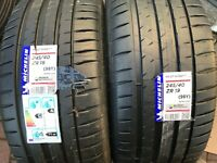 2 X NEW 245 40 19 MICHELIN PILOT SPORT 4 TYRES 245/40 ZR19 98Y EXTRA LOAD