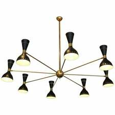Gigantic Modern Chandelier Vintage Mid Century Style Ceiling Light Fixture Lamp