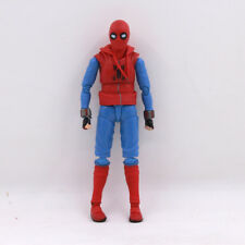 Homecoming Spider-Man Homemade Suit Ver. PVC Action Figure Toy Loose No Box
