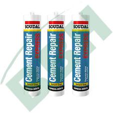 SOUDAL Cement Repair Express 3 x 310ml Reparatur Mörtel Fugenmörtel Fugen