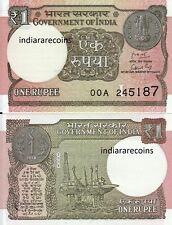 India One Rupee L Inset Rare 00A Prefix 2018 Ashoka Watermark Bank Note Unc New