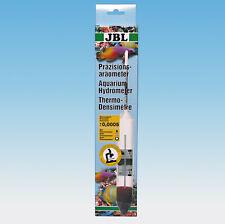 JBL aräometer con termómetro + meßgefäß AGUA DE MAR