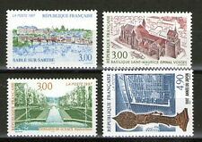 TIMBRES 3107-3110 NEUF XX LUXE - SERIE TOURISTIQUE + ANNEE DU JAPON