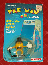 vintage PAC-MAN (tuxedo) collectable arcade figure MOC Coleco