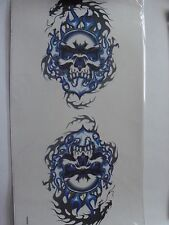 2 Skull Vinyl  Automotive Decal Stickers Car Decals