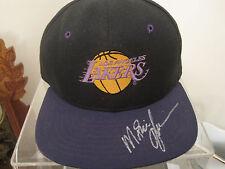 MAGIC JOHNSON autograph hat LA Lakers signed NBA auo autographed Dream Team