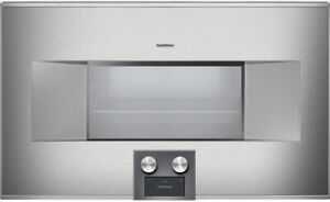NEW Perfect Gaggenau 400 Series BS485611 30 Inch Combi-Steam Oven RETAIL $8,199
