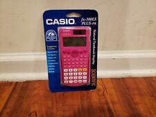 Casio FX-300ESPLUS-PK Fraction & Scientific Calculator - Pink