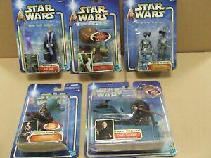Star Wars Hasbro 2002/03 Carded Figures - MIB