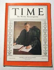 Vintage Time Magazine September 28 1936 Harvards James Bryant Conant Weekly News