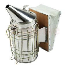 New Hive Bee Smoker Galvanized Sheet With Heat Shield Beekeeping Equipment Hot