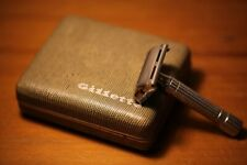 1953 Gillette President Y1 razor with case and blades