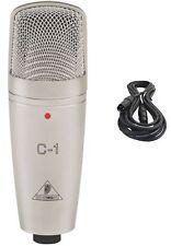 BRAND NEW Behringer C-1 Studio Condenser Microphone & 1 XLR Cable