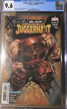 X-men Black Juggernaut #1 CGC 9.6 Scott Campbell Variant Cover Marvel Comics