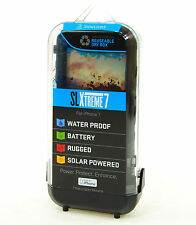 Snow Lizard SLXTREME7 Solar Charge, Waterproof Battery Case for iPhone 7 - Black