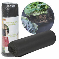 8x1.2M Weed Control Fabric Blanket Ground Cover Membrane Garden Landscape Mat