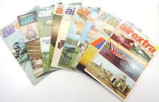Lot (10) Ian Allen airextra Magazine #s 4, 6, 7, 8, 9, 11, 13, 16, 17, 18