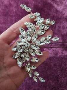 Swarovski Crystal Diamonte Bridal Hair Pin