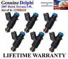 YRS 05-06 Pontiac Montana 3.5L V6 OEM Delphi #12586557 Rebuilt x6 Fuel Injectors