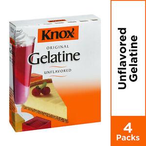 Knox Original Unflavored Gelatine 1 oz - 4 Envelopes