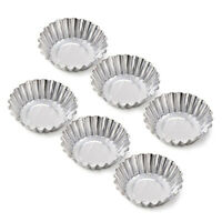 20 Pcs Egg Tart Aluminum Cupcake Cake Cookie Mold Tin Baking Tool Baking Cups
