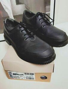 Camper Men's Black Shoes Ridged Sole  Lace up Size 42