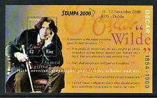 OSCAR  WILDE 2000 DX209b  STAMPA  MEMBERS OSCAR  WILDE POET  MS SHEET - SCARCE